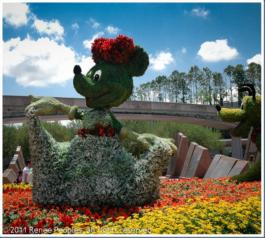 Topiary Minnie